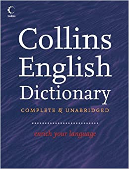 collins english dictionary complete and unabridged 13th edition
