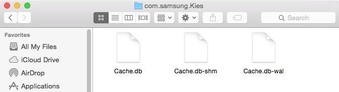 application cache on mac can it be deleted