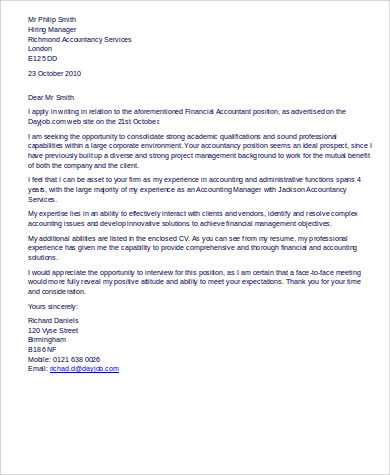 cover letter for accounting job pdf